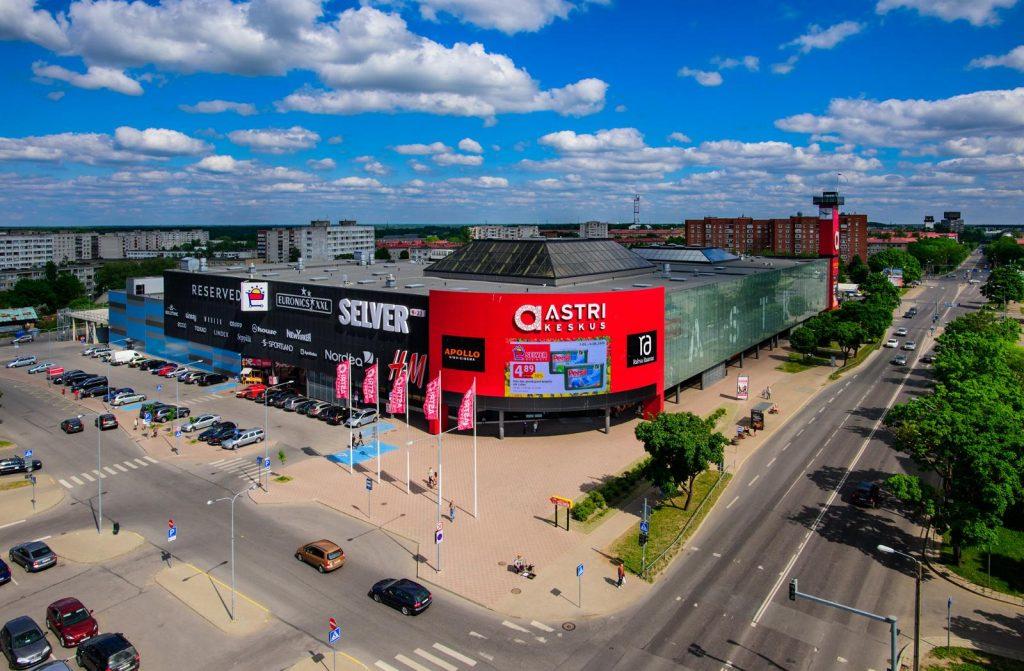 Astri - торговый центр в Нарве