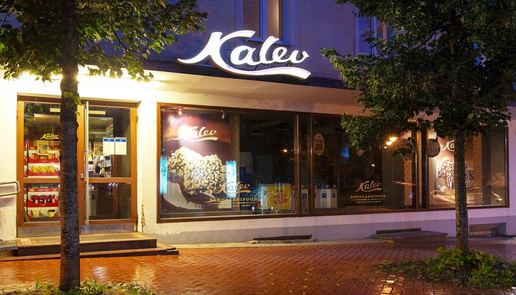 Kalevi Tartu šokolaadipood в Тарту