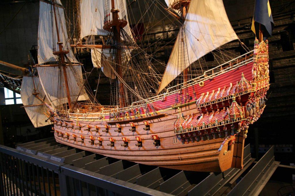 Корабль Васа в музее