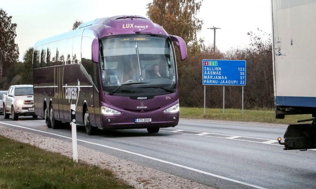 Lux Express в Таллин
