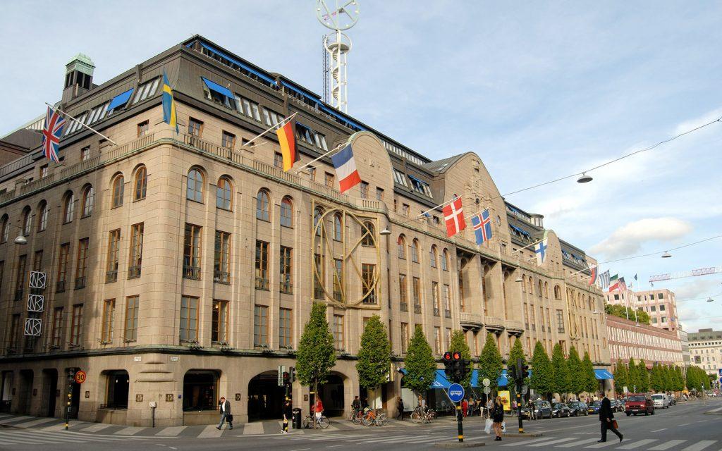 Торговый центр в Стокгольме