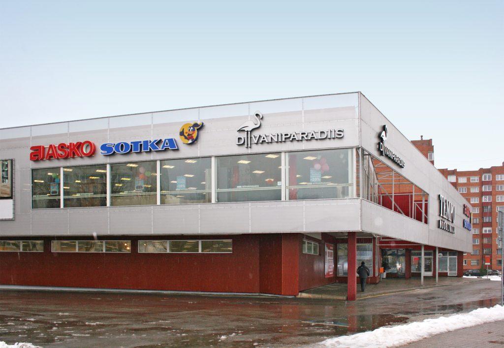 Tempo - торговый центр в Нарве
