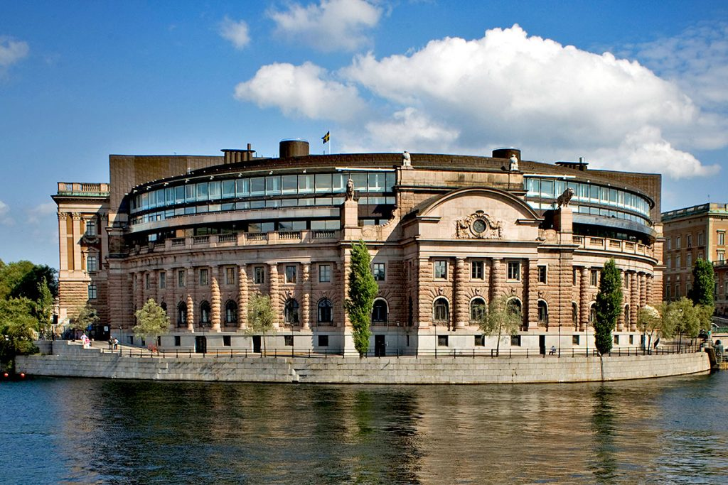 Здание парламента Рикстаг