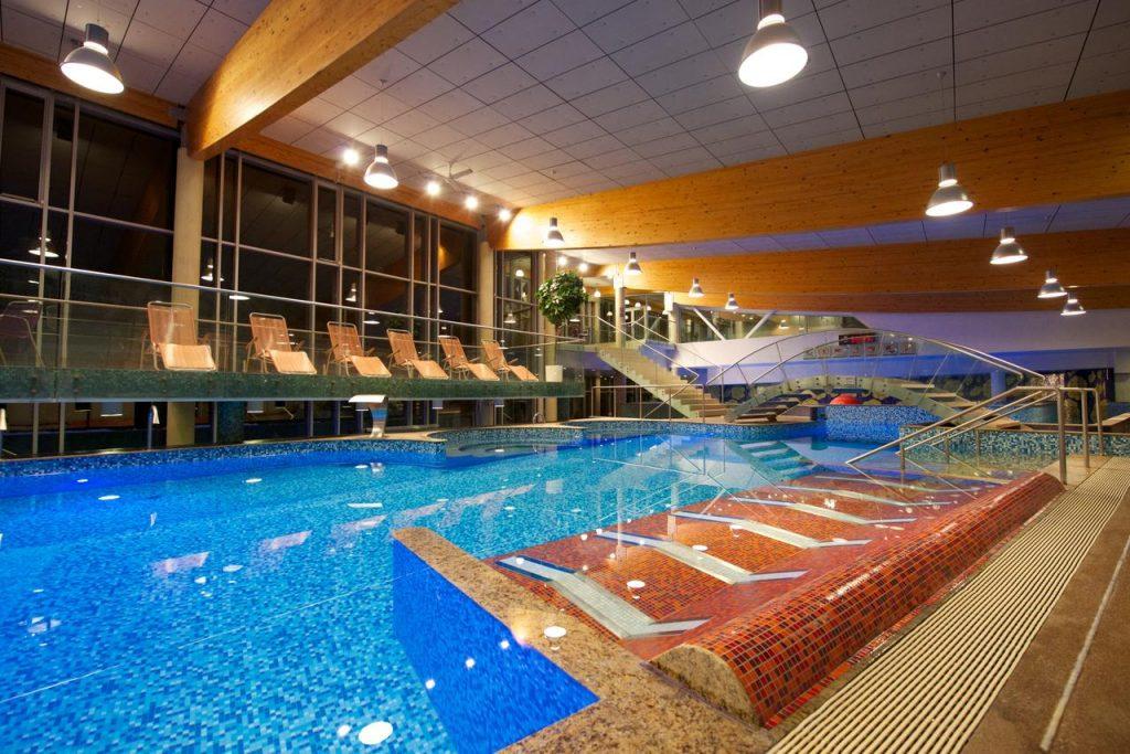 Водный центр Aqva Hotel & Spa отеля в Раквере