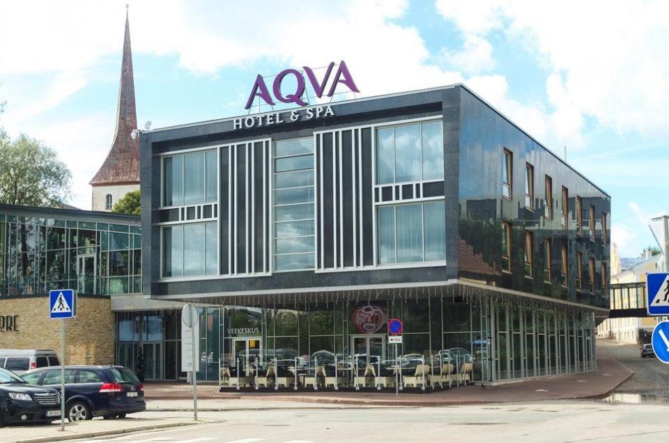 Aqva Hotel & Spa отель в Раквере