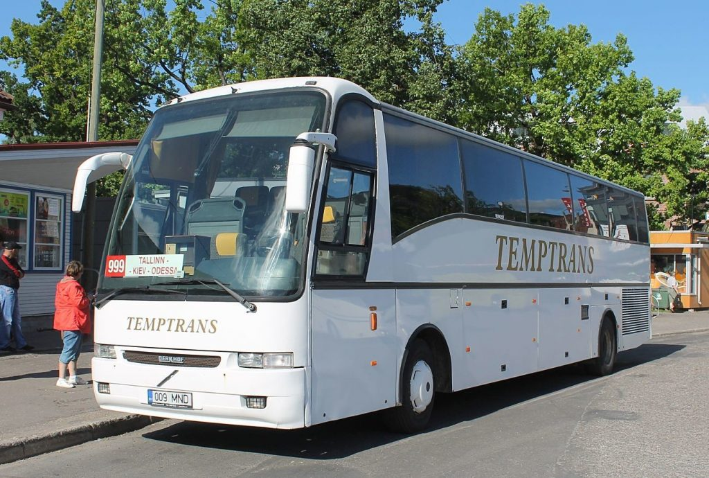 На автобусе в Эстонию