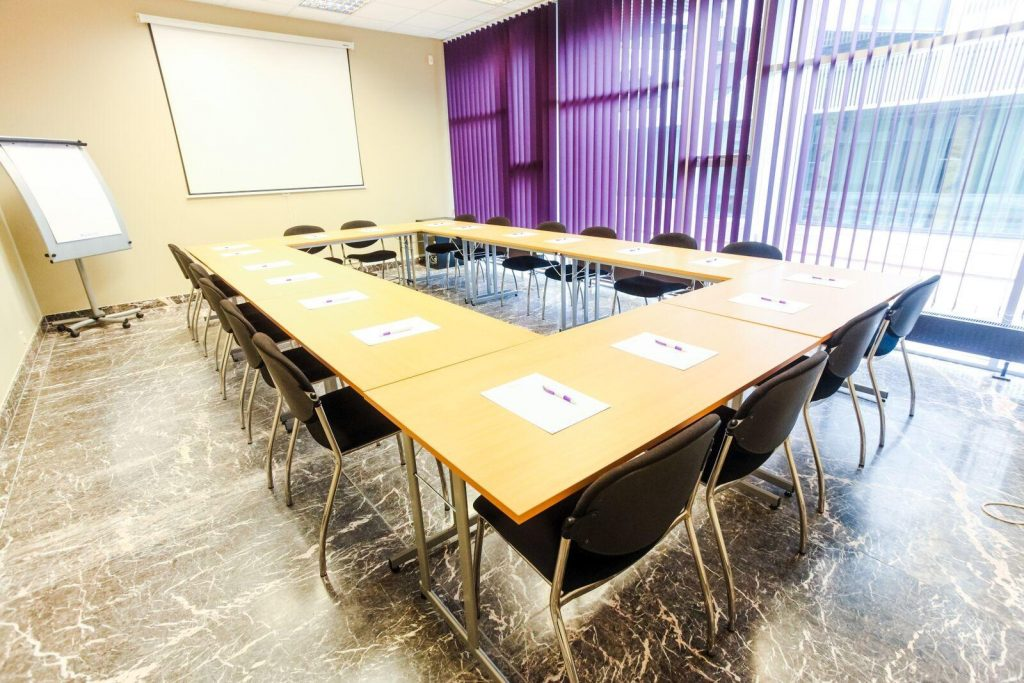 Конференц-центр в Aqva Hotel & Spa отеле в Раквере