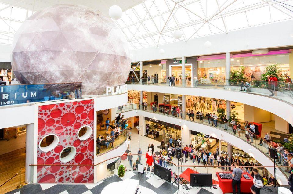 Магазины и торговые центры Нарвы