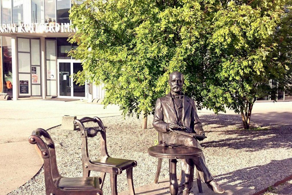 Памятник Густаву Фаберже