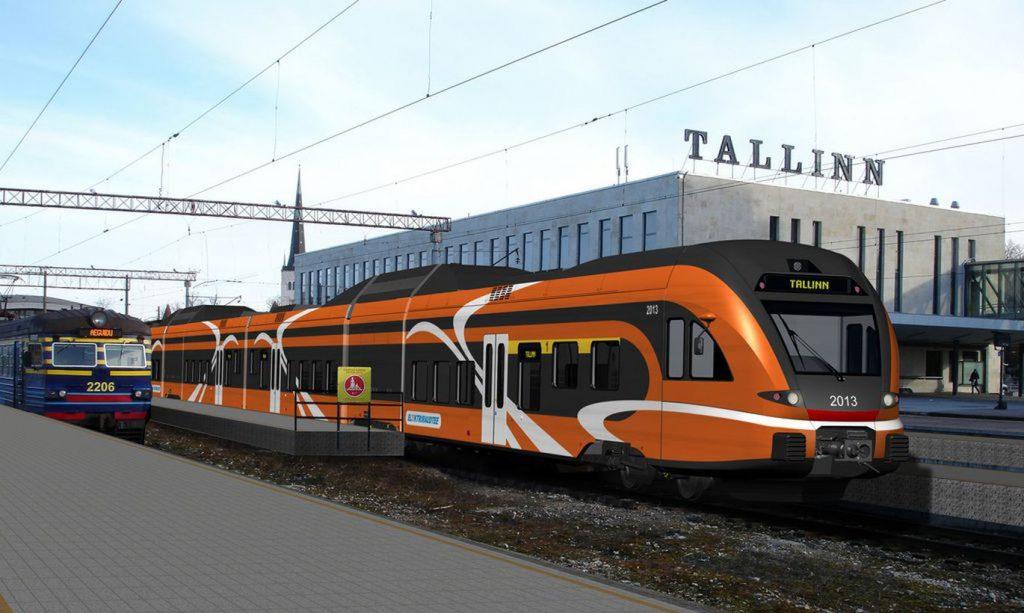 На поезде в Эстонию