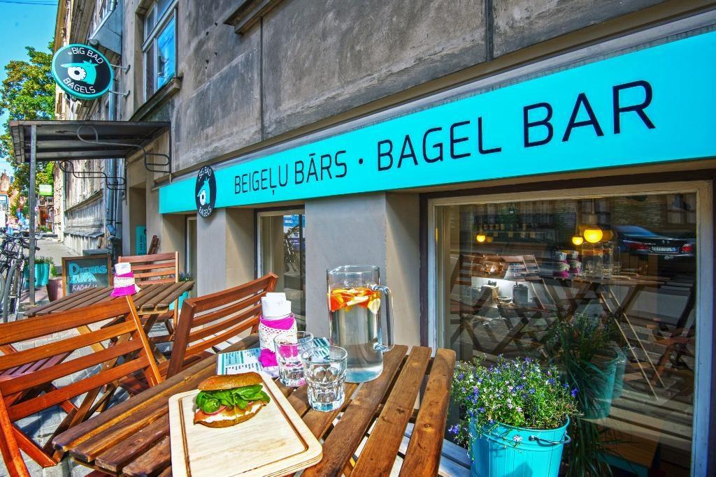 Big Bad Bagels Baznīcas в Риге