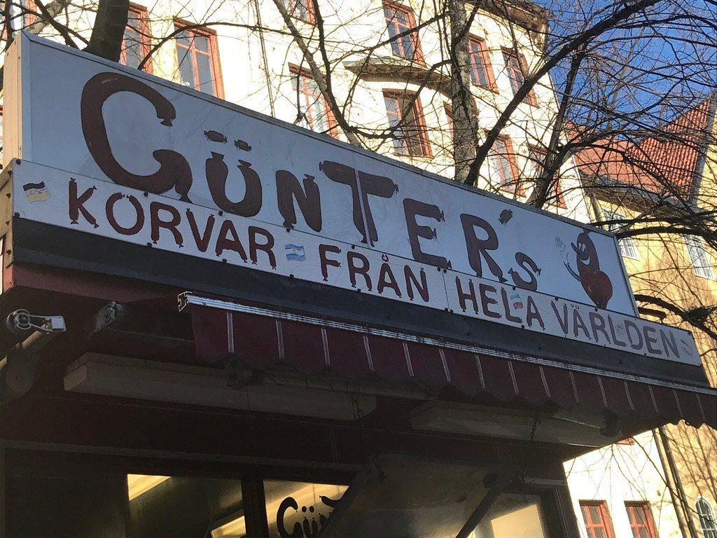 Gunters korvar в Стокгольме