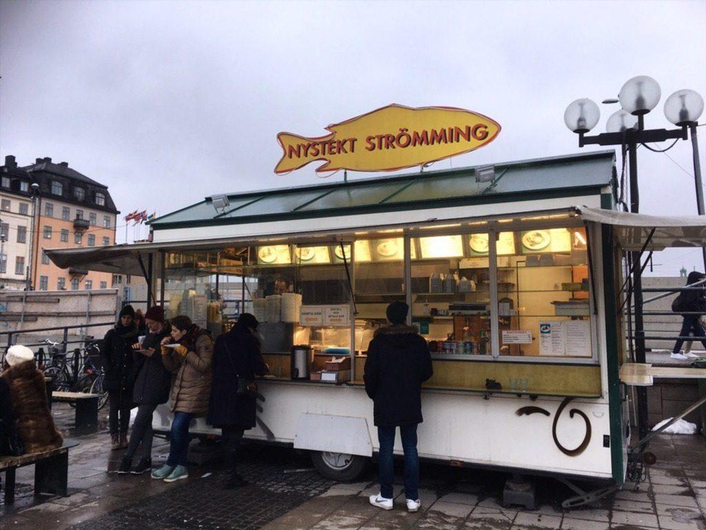 Киоск в Стокгольме