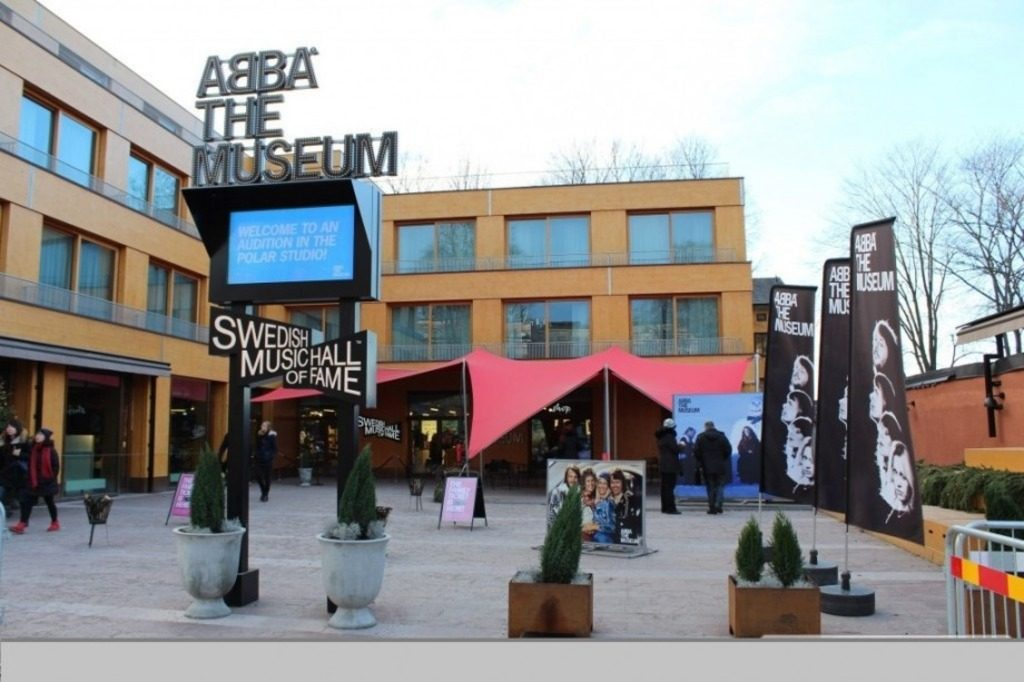 Музей группы ABBA в Стокгольме