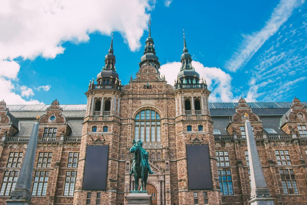 Nordic museum на острове Юргорден