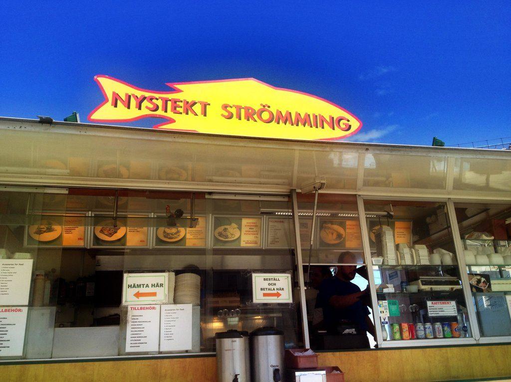 Nystekt Strömming в Стокгольме