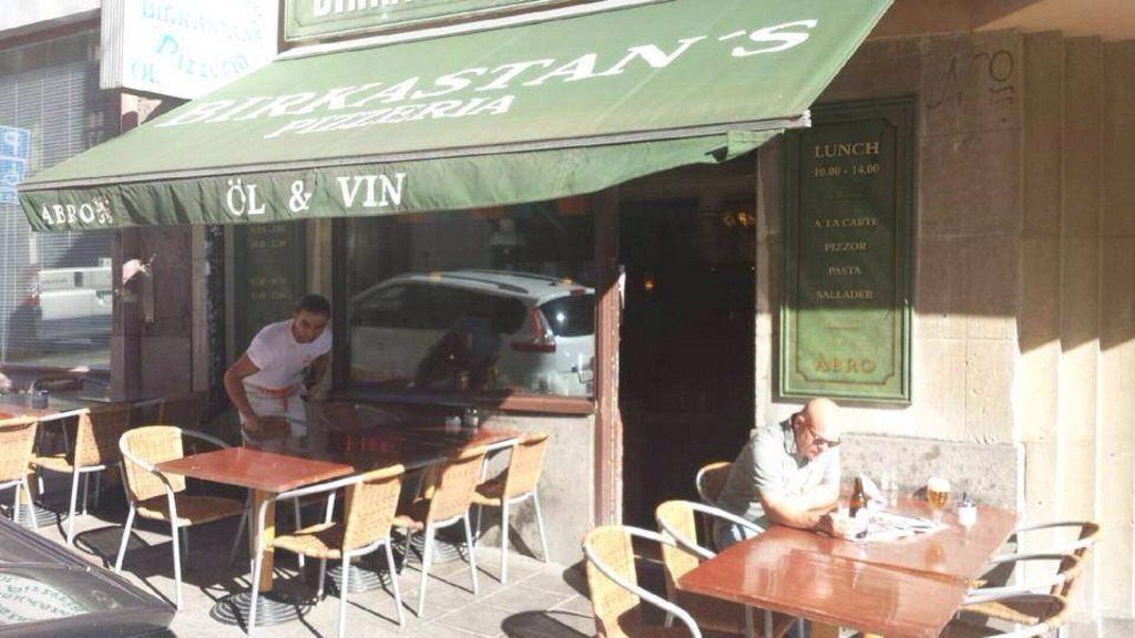 Пиццерия Birkastans pizzeria в Стокгольме
