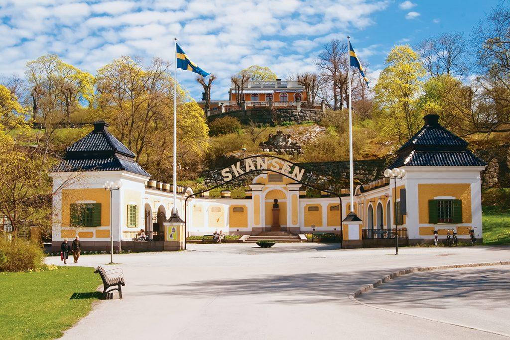 Скансен в Стокгольме