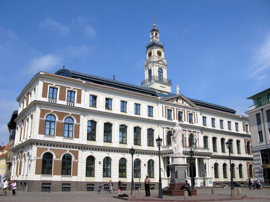 Здание Ратуши в Риге