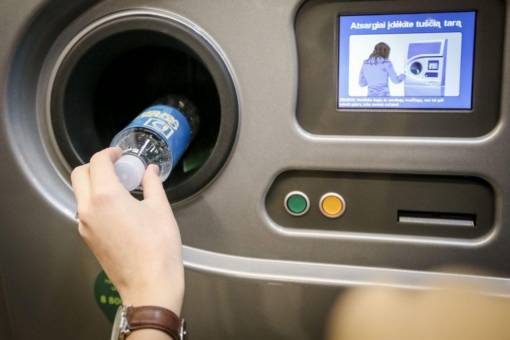 Автомат по приему тары в Риге