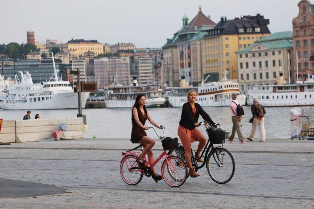 Прокат велосипеда в Стокгольме