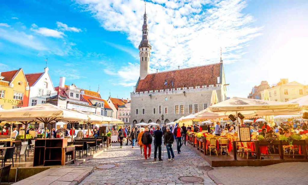 Пешие прогулки по Таллину