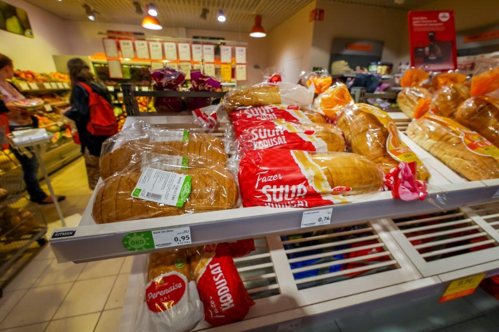 Цены на продукты в Таллине
