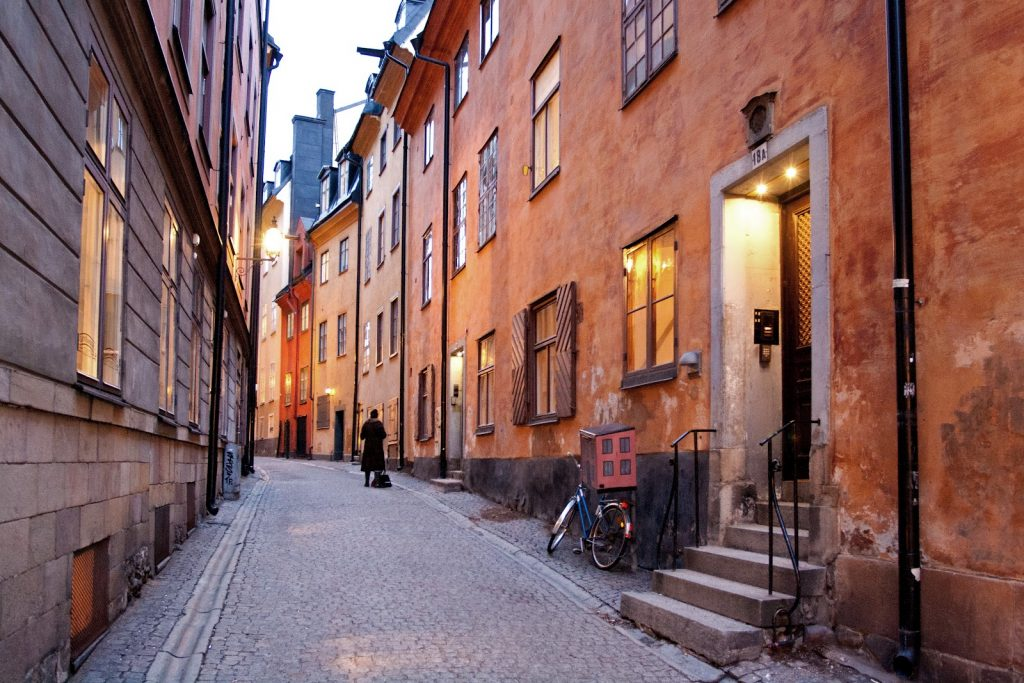 «Переулок ада» в Стокгольме