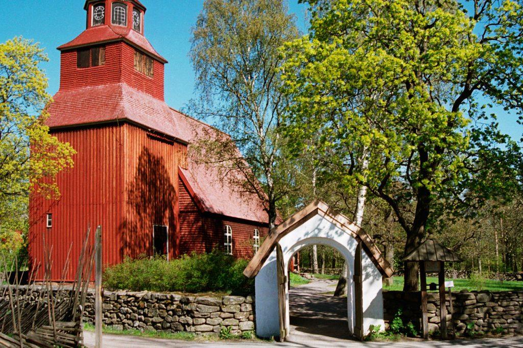 Музей «Скансен» в Стокгольме