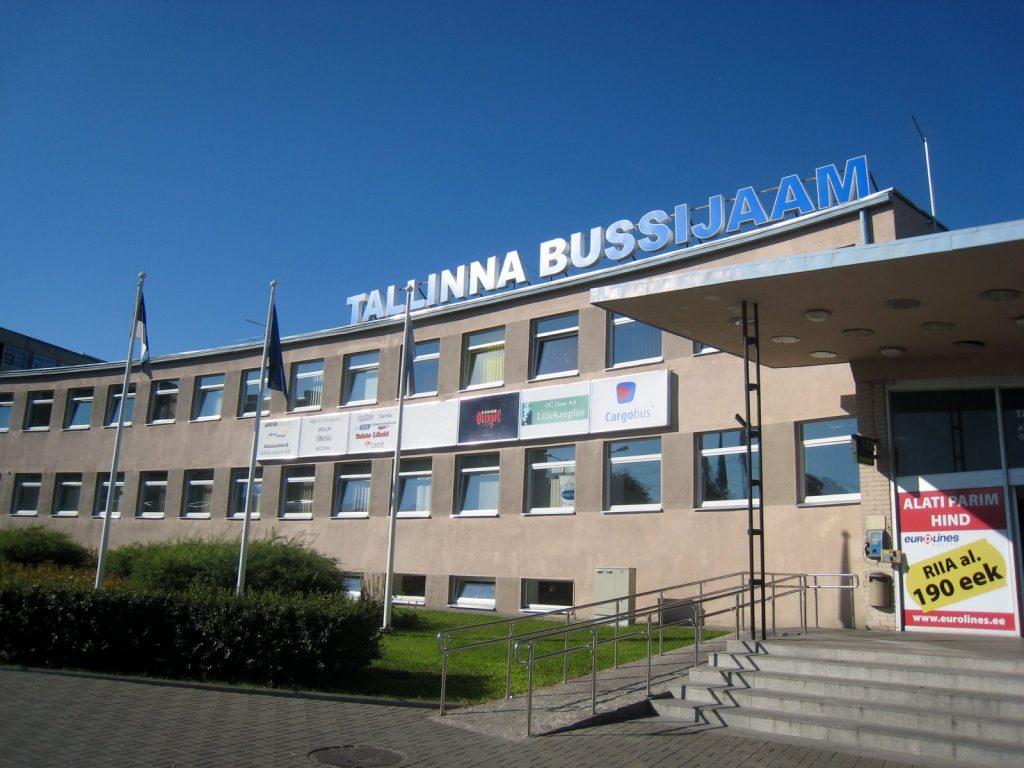 Автовокзал в Таллине