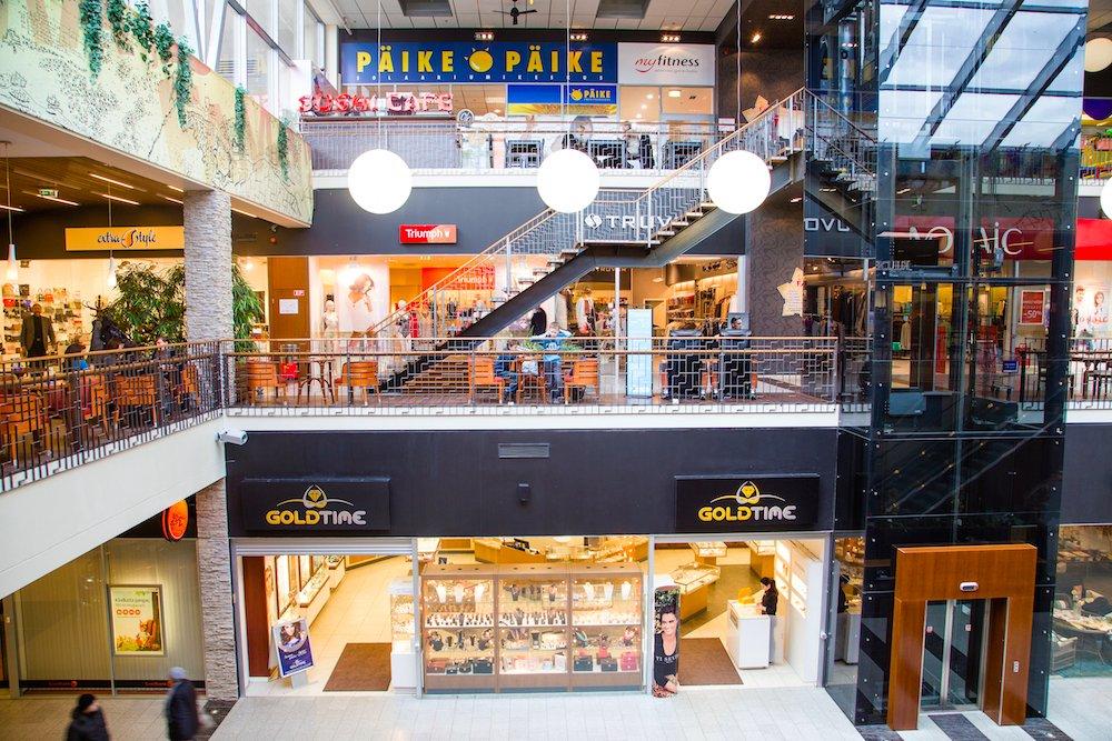 Торговый центр Fama Keskus в Нарве