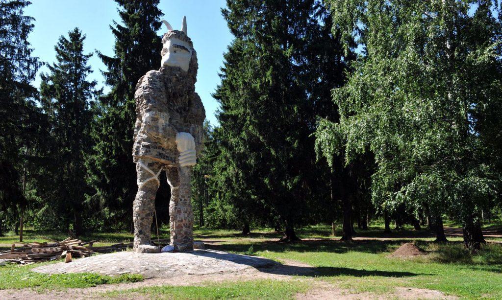 Калевипоэге в замке Глена в Таллине