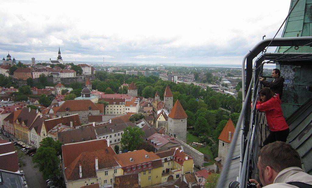 Церковь и башня святого Олафа в Таллине