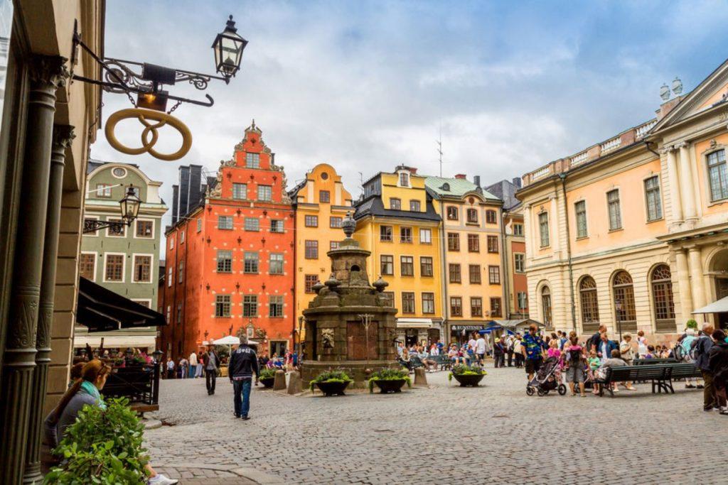 Рыночная площадь в Стокгольме