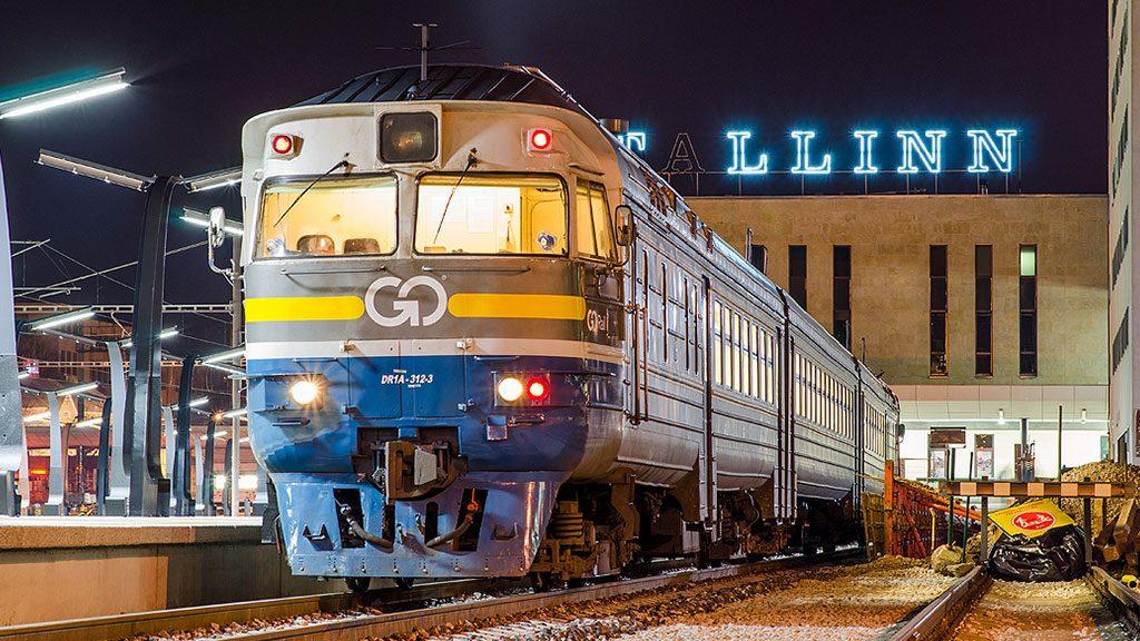 Поезде «Балтийский экспресс»