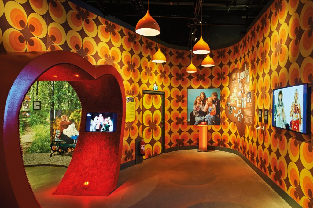 Интерактивный музей группы ABBA в Стокгольме