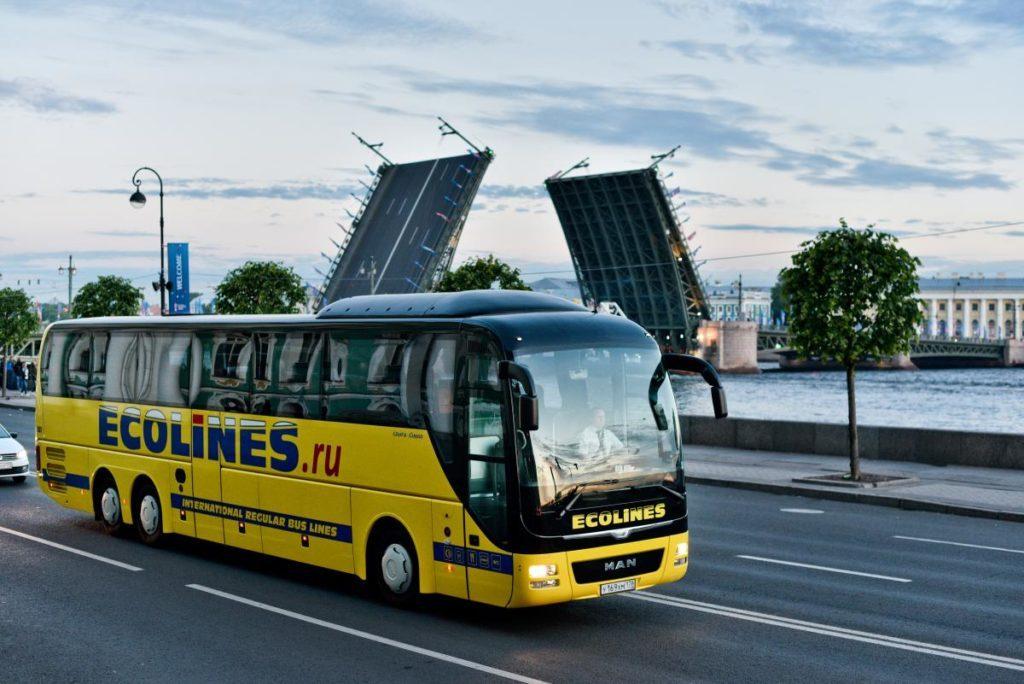 Рейсовый автобус из Петербурга в Таллин