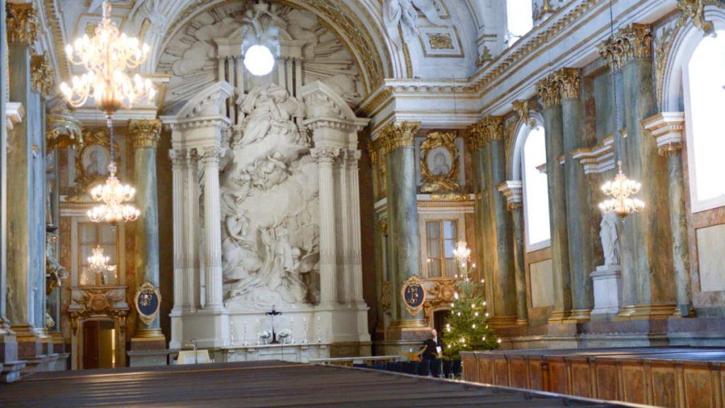 Церковь при Королевском дворце в Стокгольме