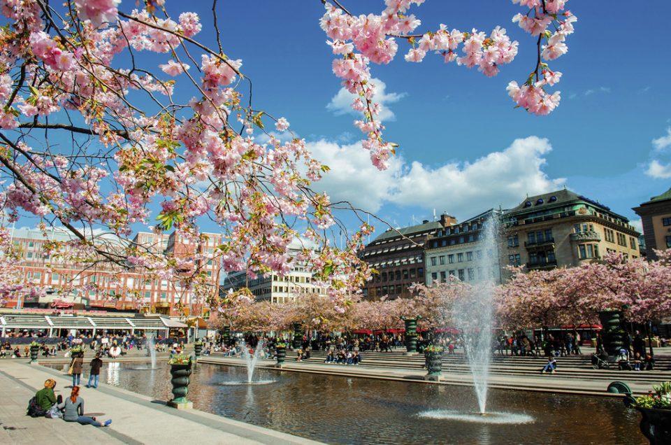 Кунгстрэдгорден – парк в центре Стокгольма