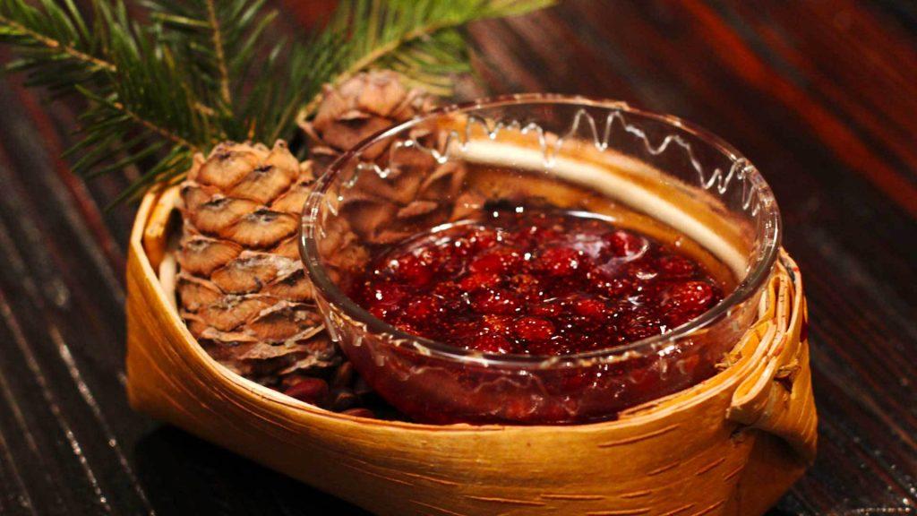 Варенье из северных диких лесных ягод