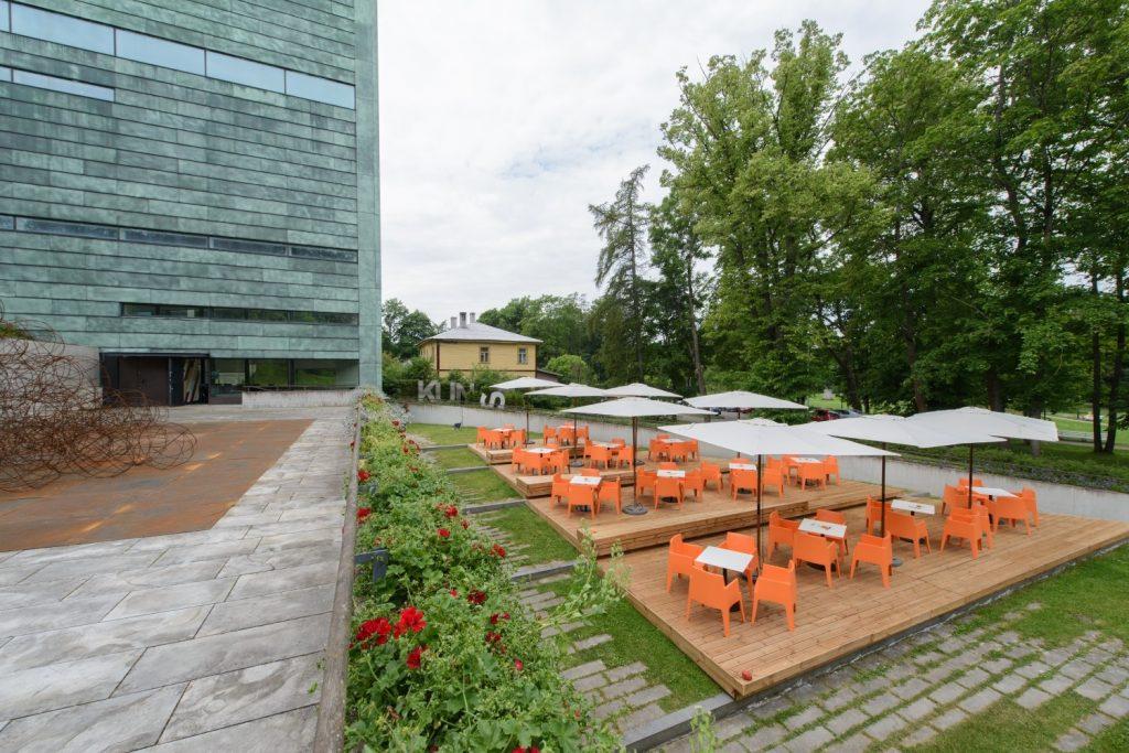 Национальный художественный музей Куму (Kumu) в Таллине