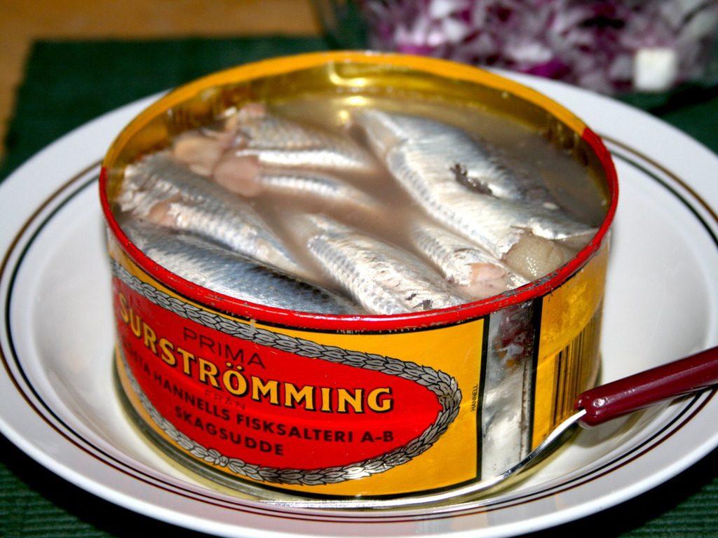 Швецкие рыбные консервы