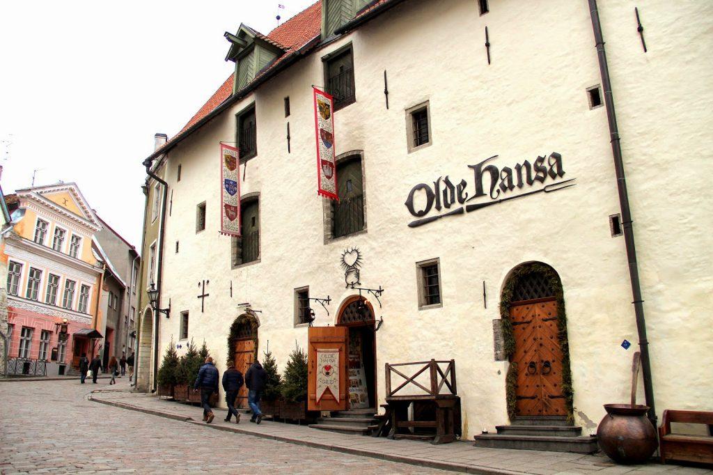 Ресторан Olde Hansa