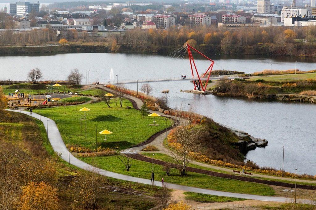 Парк Паэ в Таллине