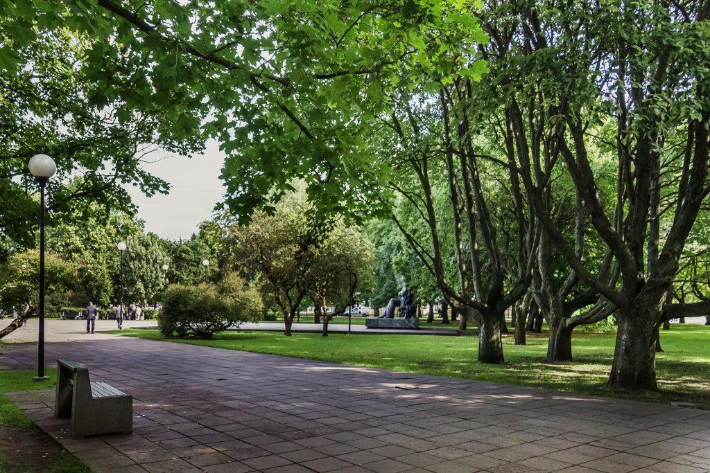 Парк Таммсааре в Таллине