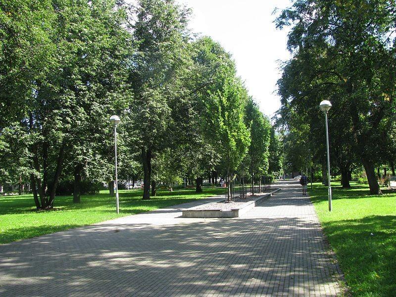 Полицейский парк в Таллине