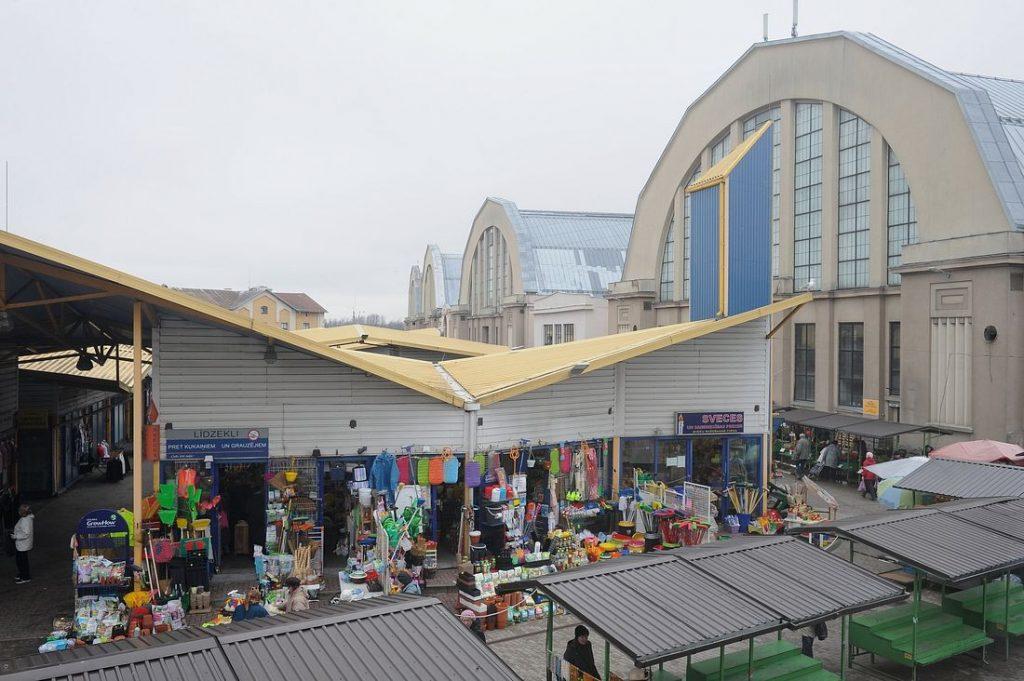 Рижский центральный рынок