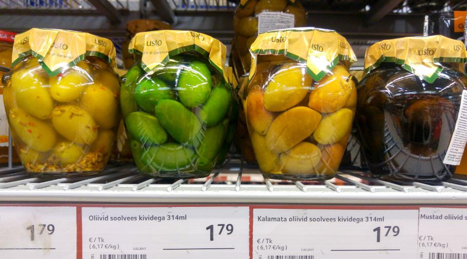 Продукты питания в Нарве