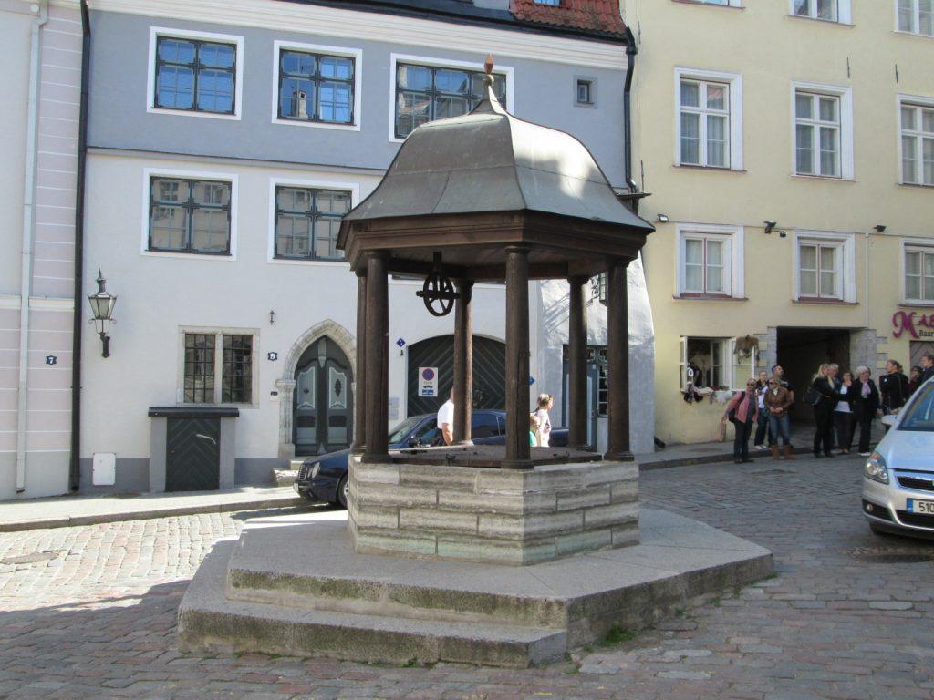 «Кошачий колодец» в Таллине
