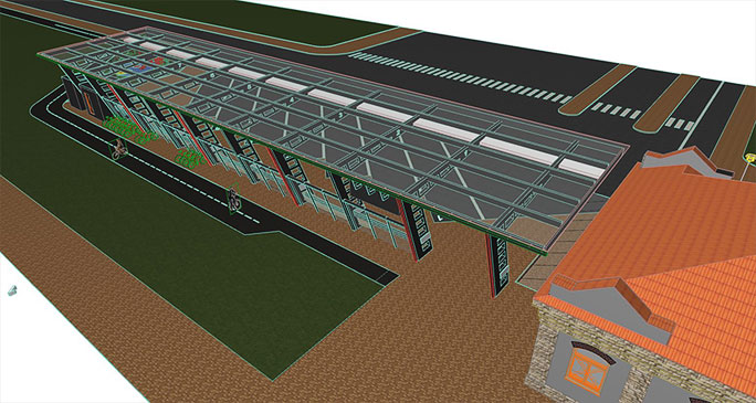 Проект автовокзала в Нарве
